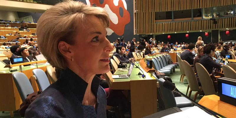 Minister Cash at the UN General Assembly