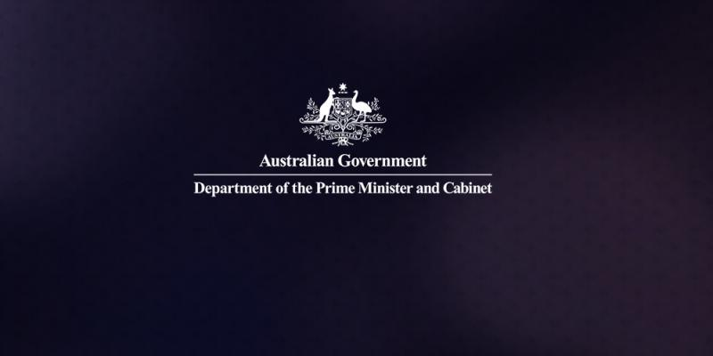 Department of the Prime Minister and Cabinet crest
