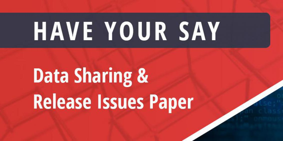 Have your say on the Data Sharing Paper - banner image