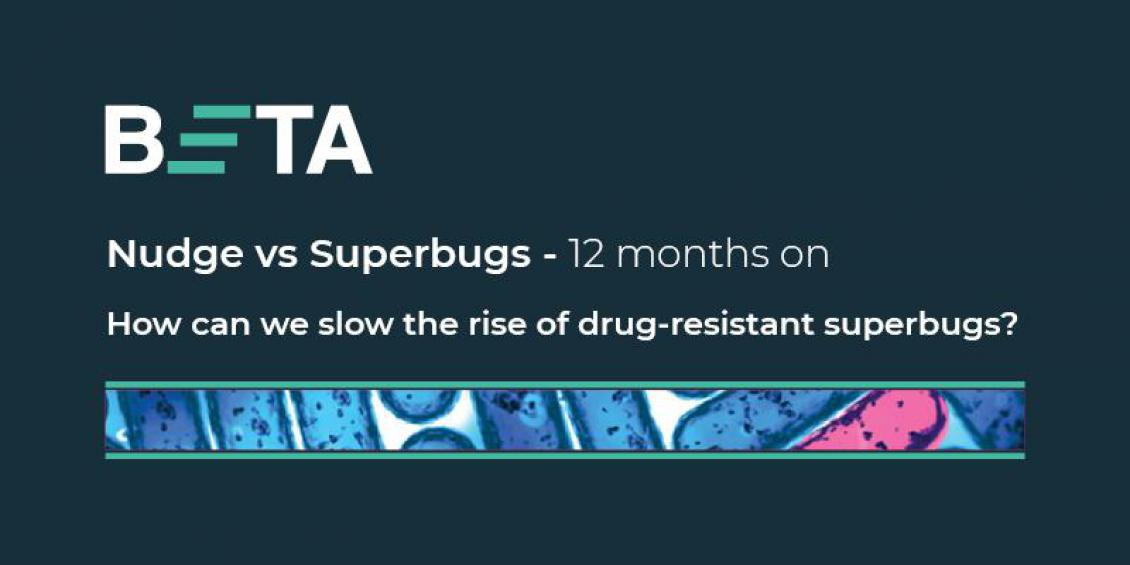 BETA Nudge vs Superbugs - 12 months on. How can we slow the rise of drug-resistant superbugs?