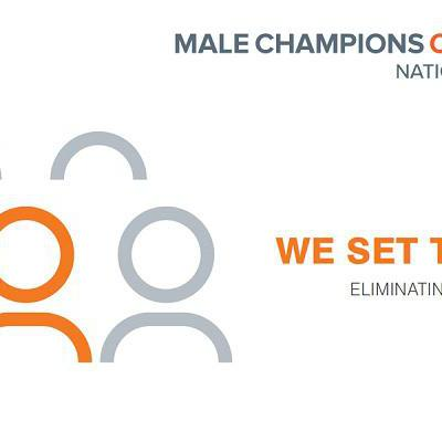 Male Champions of Change. We set the tone. Eliminating everyday sexism.