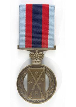 Champion Shots Medal front