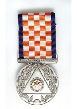 Emergency Service Medal front