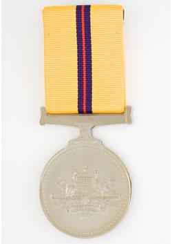 Iraq Medal front