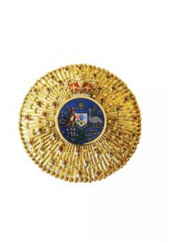 Knight /Dame of the Order of Australia breast badge