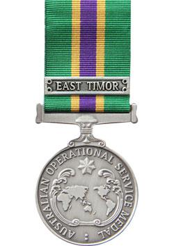 Operational Service Medal - Civilian front