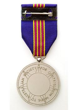 Centenary Medal back