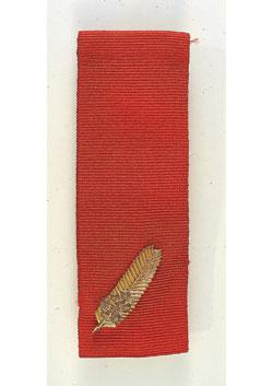 Commendation for Brave Conduct front