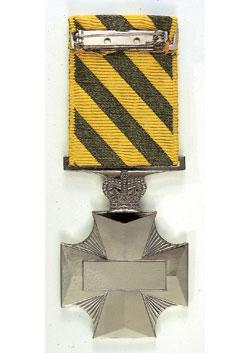 Conspicuous Service Cross back