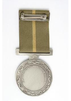 Humanitarian Overseas Service Medal back