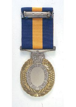 Reserve Force Decoration back